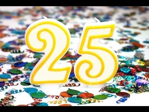 Мне сегодня 25 лет поздравления себе