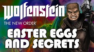Wolfenstein: The New Order All Easter Eggs And Secrets HD