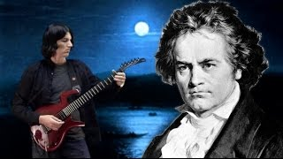 'Moonlight Sonata' 3rd Movement - Guitar - Dan Mumm - Classical Metal - Ludwig Van Beethoven