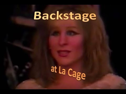 Backstage With Female Impersonators    An Evening At La Cage , Atlantic City  1989