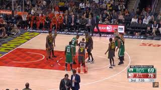 MARCUS SMART THROWS PUNCHES AT DEANDRE BEMBRY AND GETS EJECTED