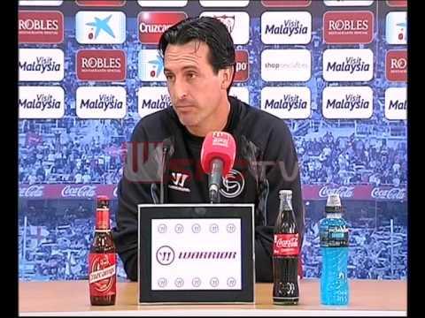 Rueda de prensa Unai Emery. Previa FC Barcelona-Sevilla FC