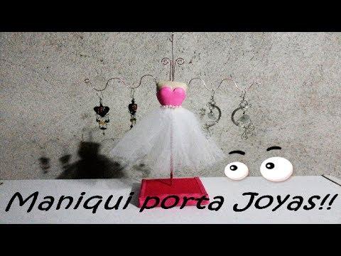 Maniqui porta joyas | TheArtofCreating
