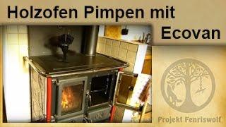 Holzofen pimpen mit Ofenventilator Ecofan
