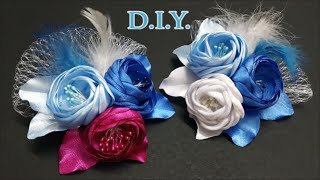 ❄ ❄ ❄ D.I.Y. Frozen Themed Bridal Flower | MyInDulzens ❄ ❄ ❄