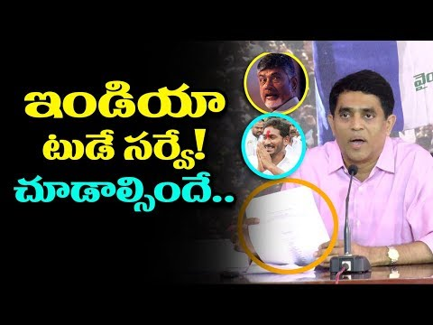 MLA Buggana Rajendranath about India Today Survey in AP Politics |Questions On Amaravati Development