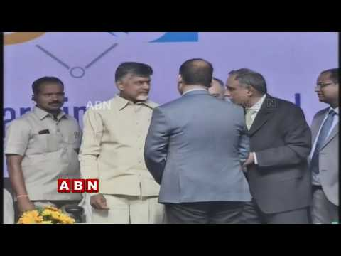 AP CM Chandrababu Naidu Addresses Global Warming Challenge Programme | Guntur | ABN Telugu