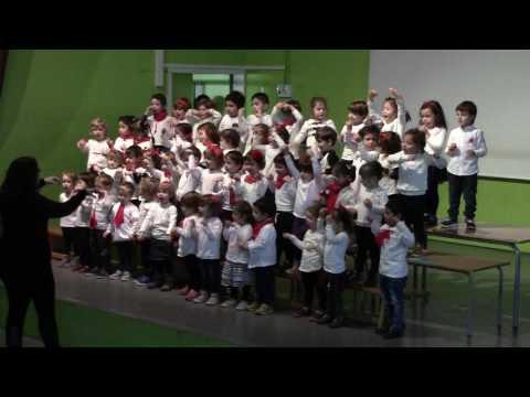 Escola Fort Pienc - Concert de Nadal 2016 - P3 - Tic tac