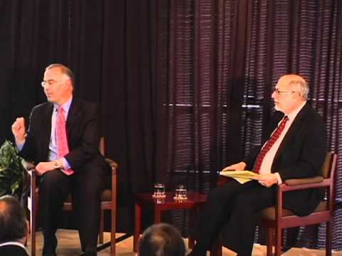 David Brooks at the Maxwell School/Public Agenda Policy Breakfast Part 1/4