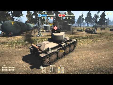 Heroes & Generals Победа на танке германии.