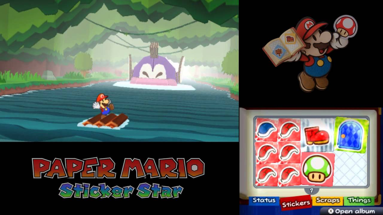 Let 39 s play paper mario sticker star part 29 in the for Mario go fish