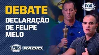 """""""CLUBISMO"""" NA SELEÇÃO? FOX Sports Rádio debateu declaração de Felipe Melo"""