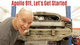 Work Begins On Apollo 911, the LS Swapped Porsche 911