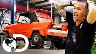Vendiendo autos de una casa abandonada | El dúo mecánico | Discovery Latinoamérica