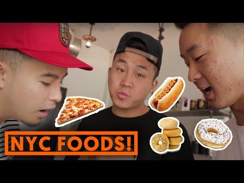 7 CLASSIC NEW YORK FOODS!