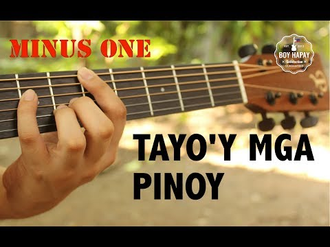 Tayoy Mga Pinoy Minus One video