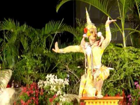Thai Folk Drama - ละครนอก สังข์ทอง ตอนหาปลา 1/4