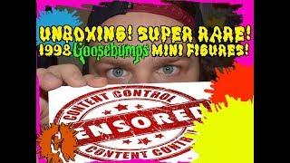 UNBOXING! Full Set Of 1998 Goosebumps Mini Figures!