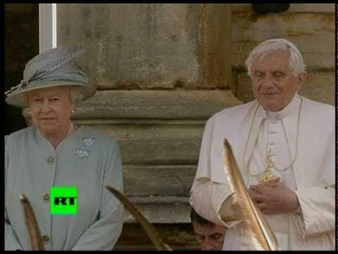Pope Benedict XVI in UK for historic visit, meets Queen in Scotland