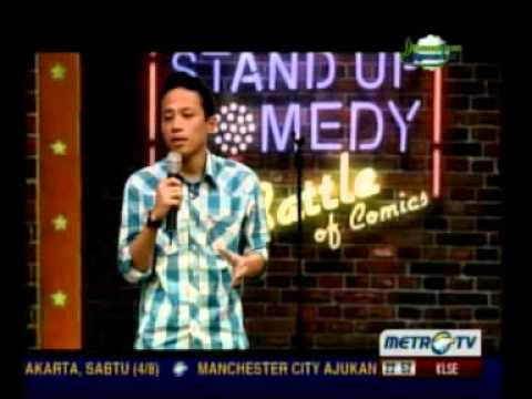 Stand Up Comedy Metro Tv   2 Agustus 2012 Battle Of Comic 3