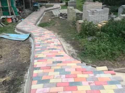 Как самому сделать краситель для бетона
