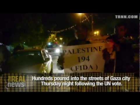 Celebrations in Gaza After UN Vote
