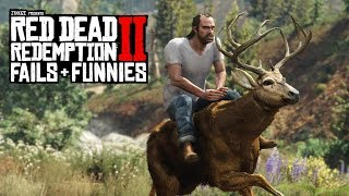 Red Dead Redemption 2 - Fails & Funnies #46