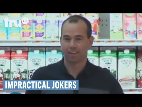 Impractical Jokers - Touching Strangers in the Supermarket