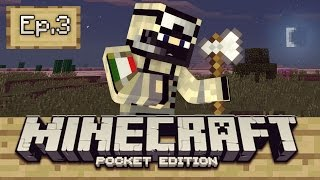 ¡Minecraft PE (Pocket Edition) Survival - CAMBIO De Planes /Ep3! [Android Fast]