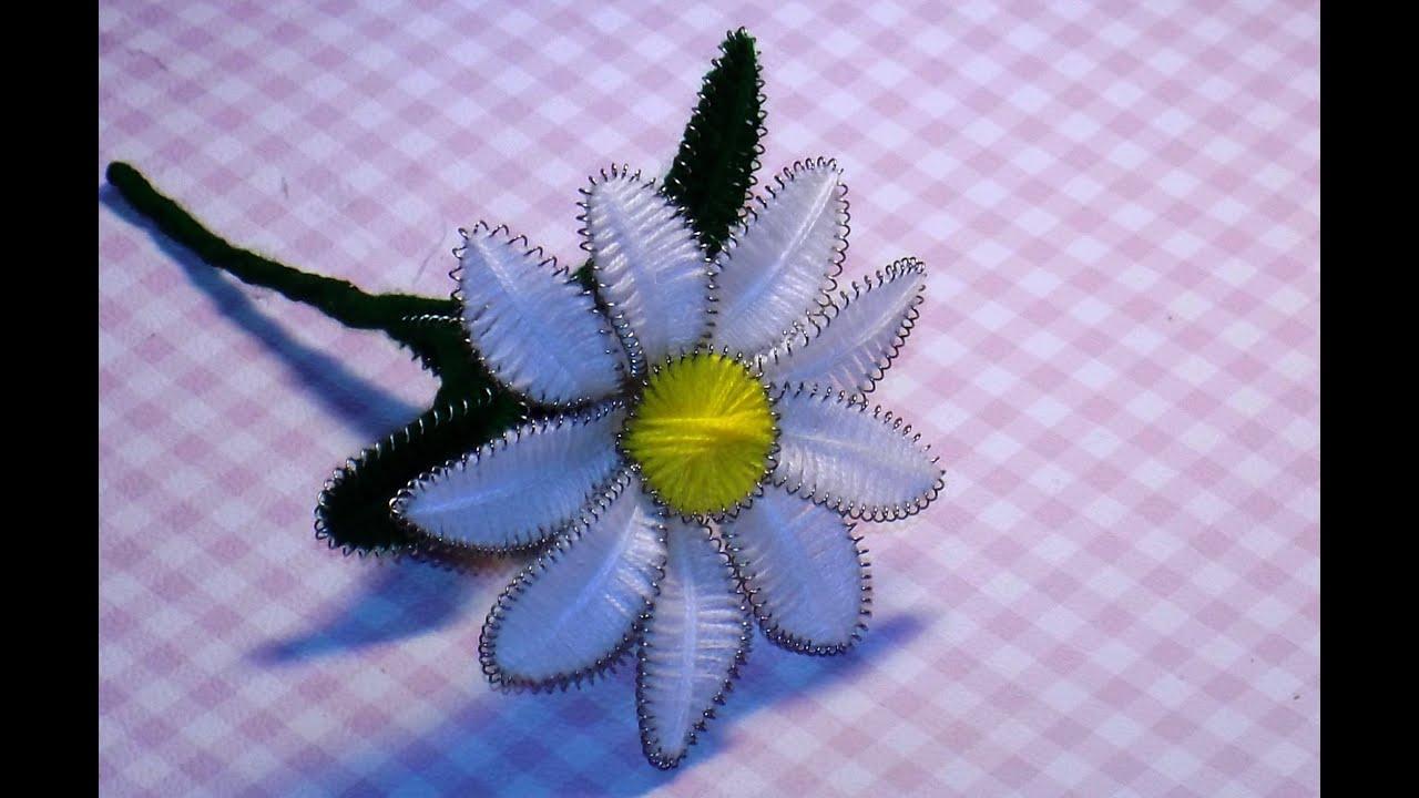Цветок своими руками из проволоки 565