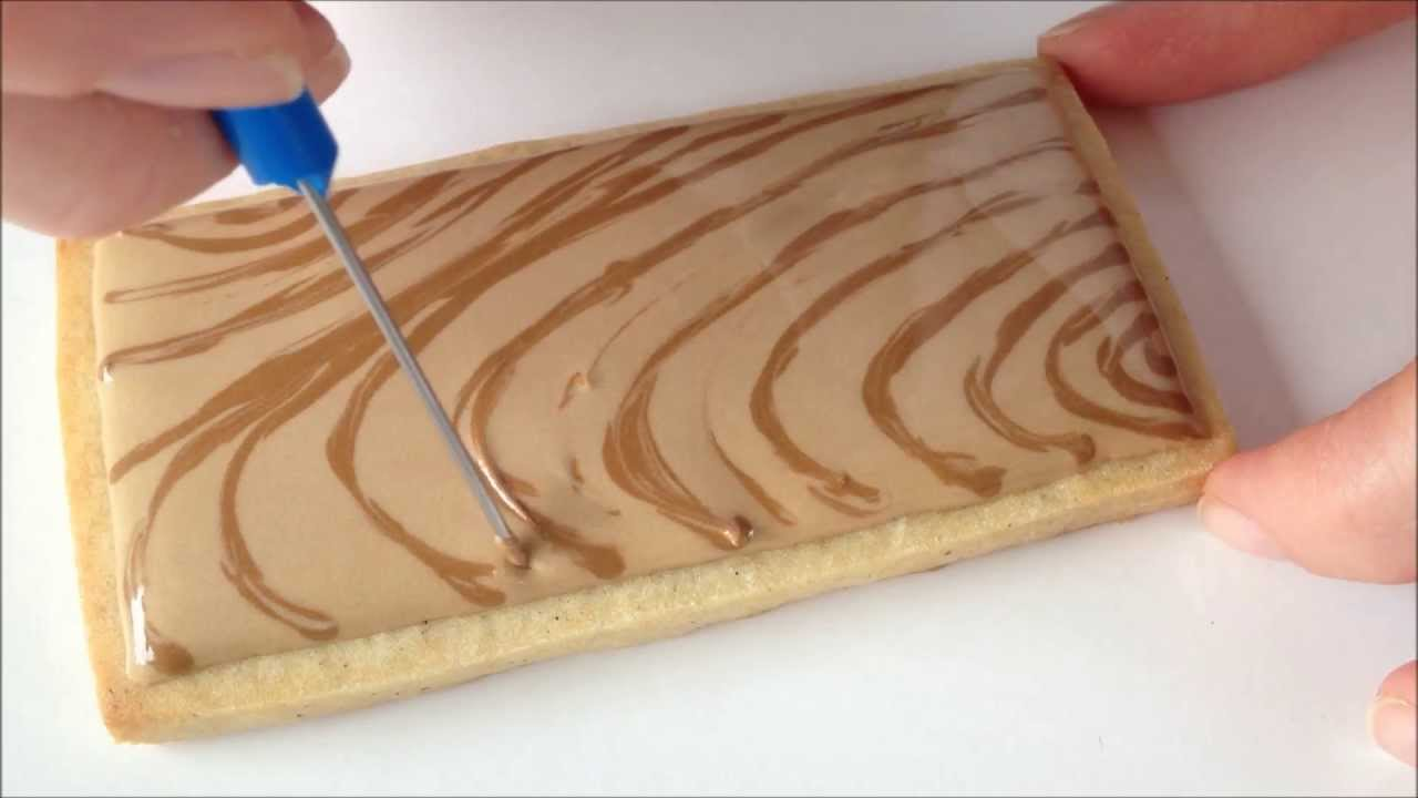 How To Make A Cake Look Like Wood