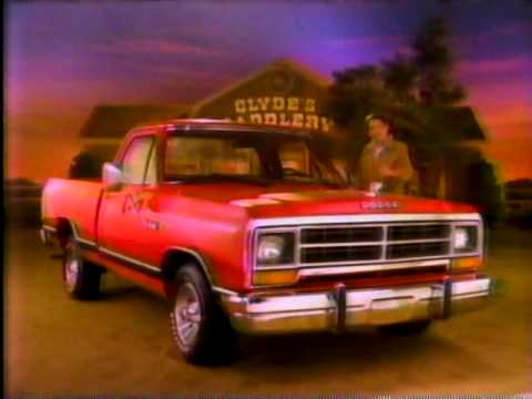 Dodge Truck vs Chevy and Ford commercial 1986 - YouTube