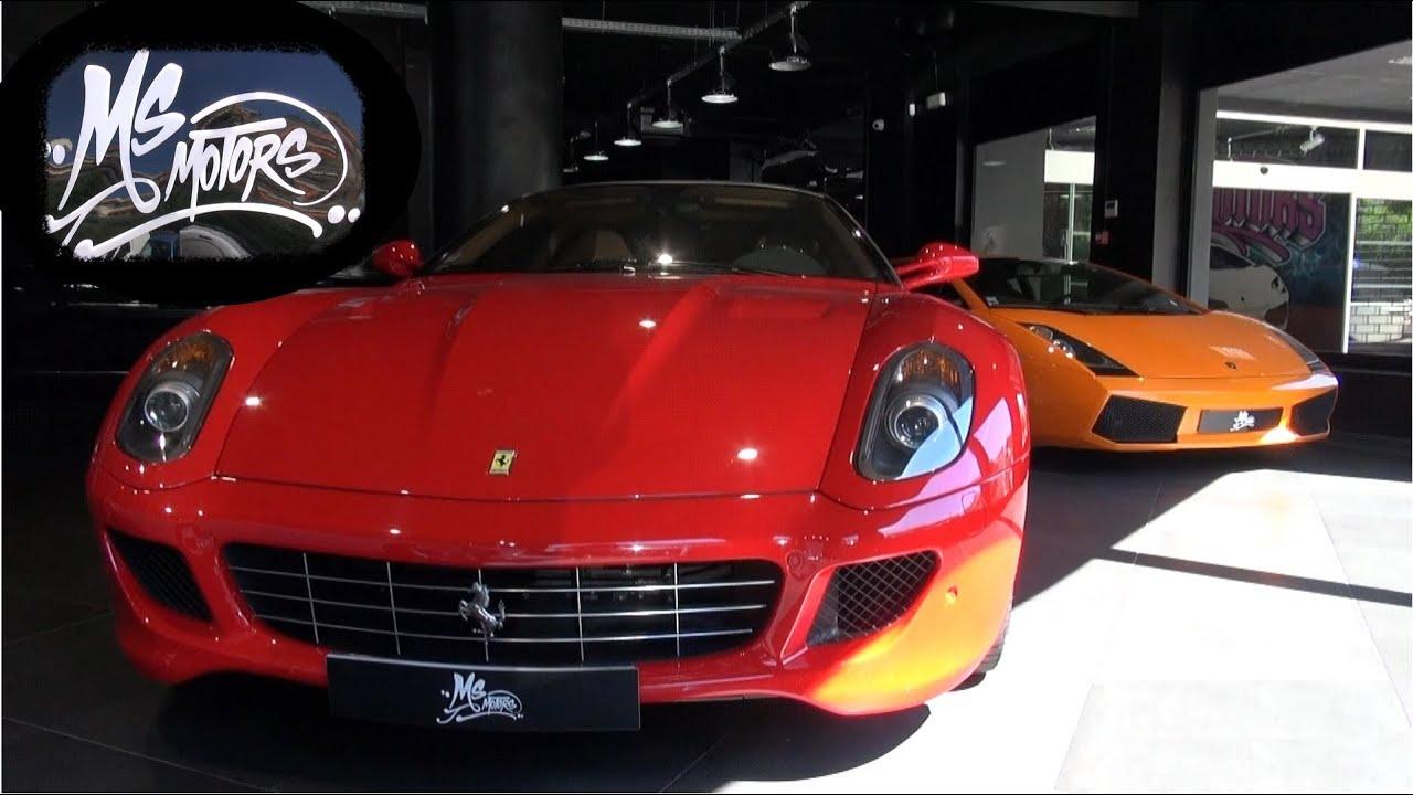 visiting ms motors supercar dealership in cannes youtube. Black Bedroom Furniture Sets. Home Design Ideas