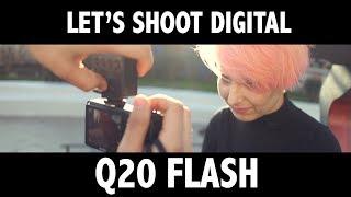 Flash Q20 + Ricoh GR