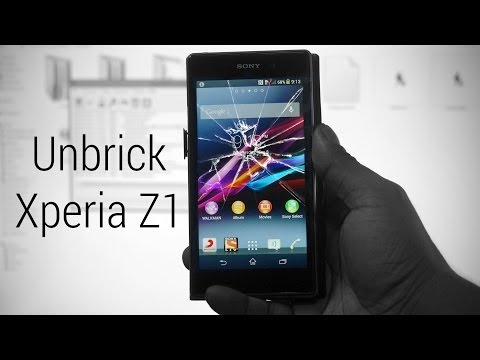 Sony Xperia Z1 - How to flash stock firmware (to Upgrade. Unbrick. Downgrade or Recover IMEI...)