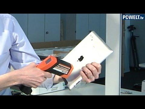 Vergleichstest Wärmeentwicklung: iPad 3 und iPad 2
