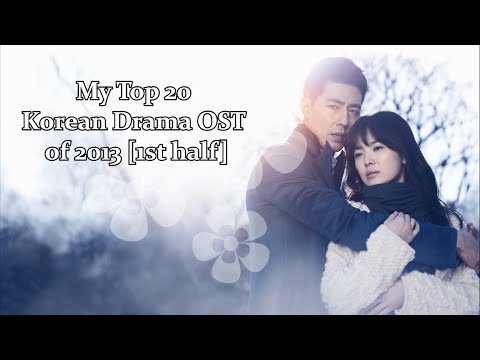 My Top 20 Korean Drama OST of 2013 [1st half]