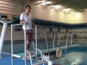 Diving Board Dynamics : Diving Board Demo With Fulcrum in the Middle
