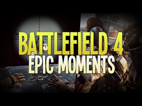 BF4 Epic Moments #2 Flying Helicopter