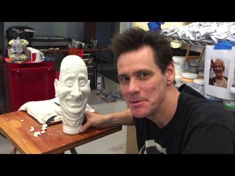 Jim Carrey creates the Jeff Daniels Puppet!
