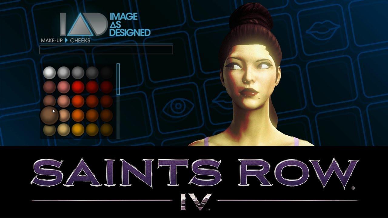 Saints Row Anime Character Creation : Saints row gameplay walkthrough part character
