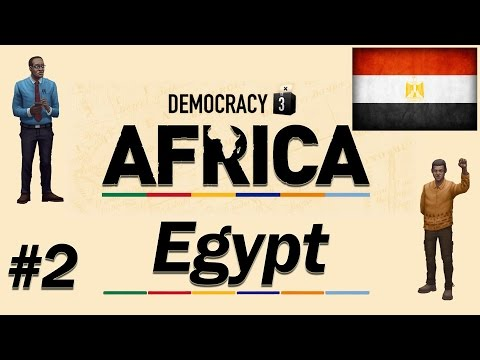 Let's Play Democracy 3: Africa - Part #2 - Egypt