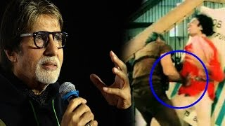 Amitabh Bachchan Talks About His Injury in Coolie Accident 1983