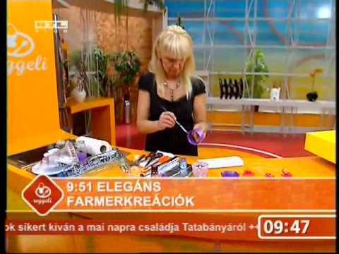 Mezei Katalin - újrahasznosítás - ékszerkészítés - Ördögh Nórával - Palotás Petrával