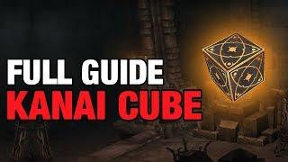 Kanai Cube & Augment Guide Diablo 3 Patch 2.6.4 Season 16 Walkthrough