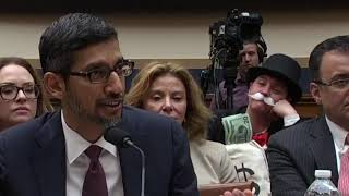 Supercut: Monopoly Man Trolls Google CEO in Live Hearing