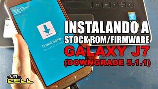 Galaxy J7 SM-J700M Samsung como formatar resetar configurações