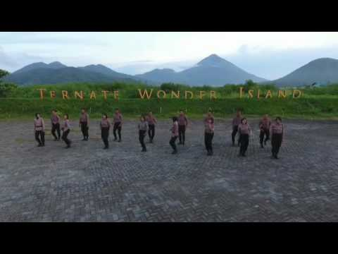 Ermelinda dance kreatif by Polda Maluku Utara