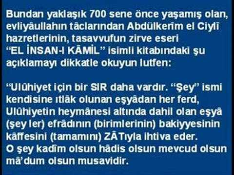 "Ahmed Hulûsi ""MUHTEŞEM KAYNAK"" 1.Bölüm"