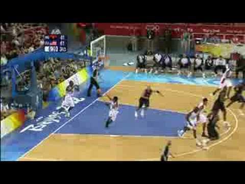 Angola vs USA - Men's Basketball - Beijing 2008 Summer Olympic Games